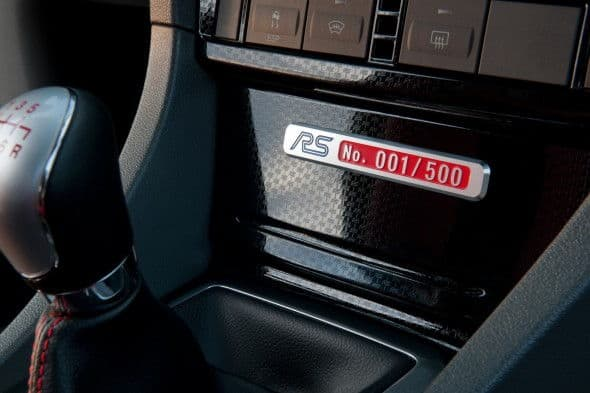 Focus RS500 Numbered Badge
