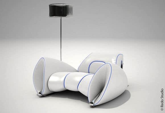 White R15 Chair