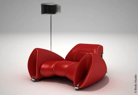 Red R15 Chair