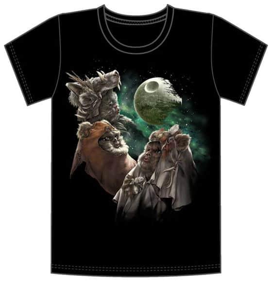 Three Ewok Shirt, 3 Wolf Moon