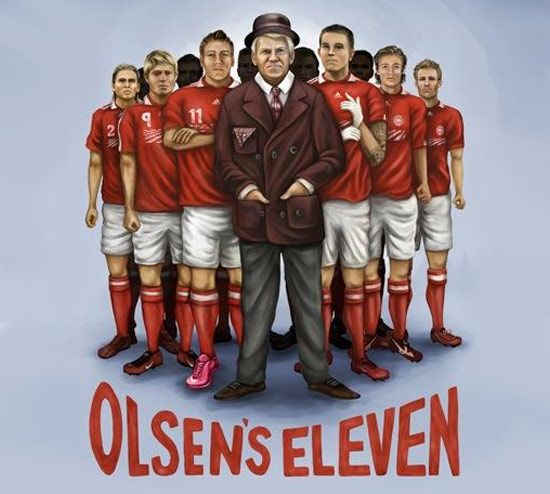 Denmark World Cup Poster