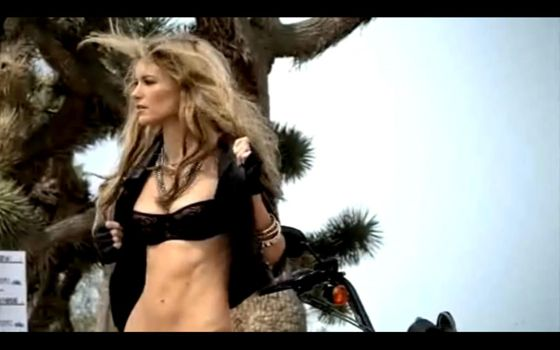 Marisa Miller Sexy Ad