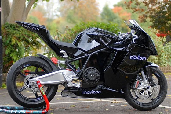 World S First Zero Emission Electric Motorcycle Mavizen Ttx02