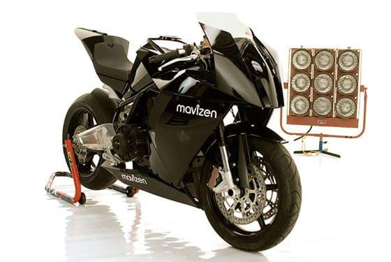 Zero Emission Motorcycle, Mavizen Bike