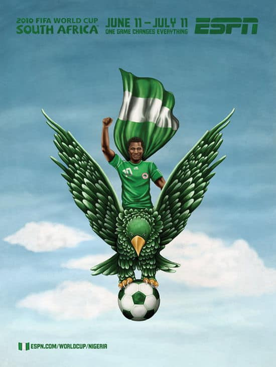 Nigeria World Cup Poster