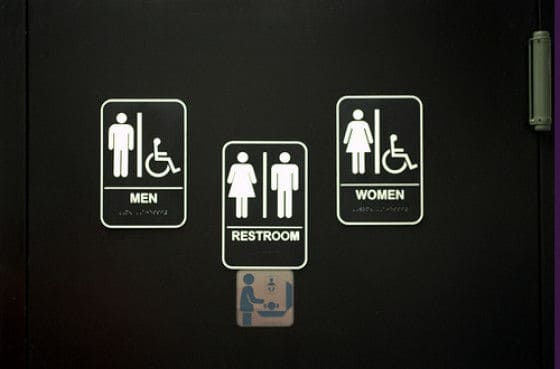 Mens Public Bathroom