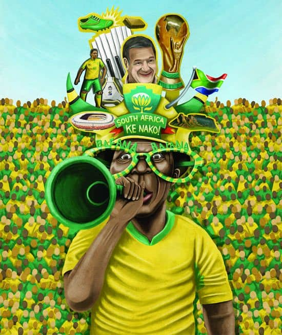 South Africa World Cup Poster