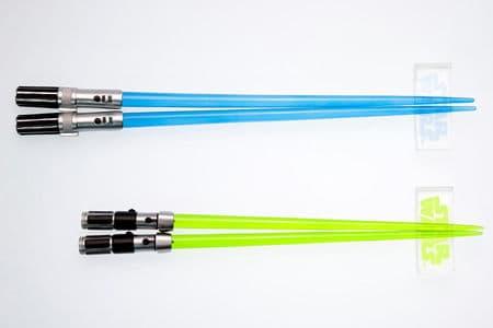 Light Saber Chop Sticks Yoda & Luke