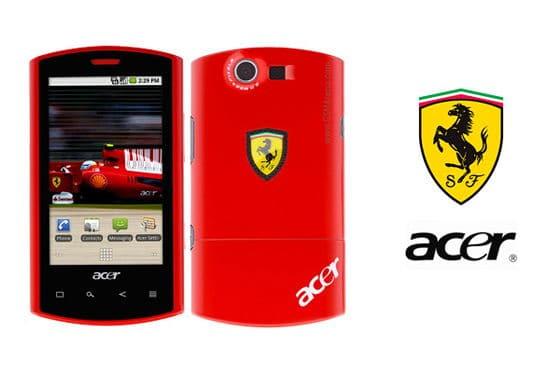 Ferrari Acer Phone
