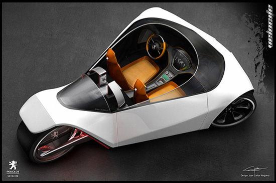 Peugeot Velocite Concept Car