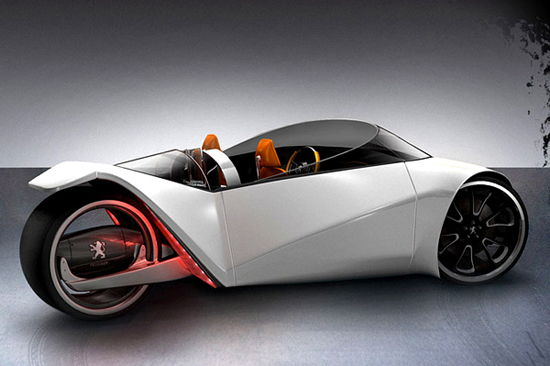 Hybrid Concept Car - Peugeot Velocite - Unfinished Man