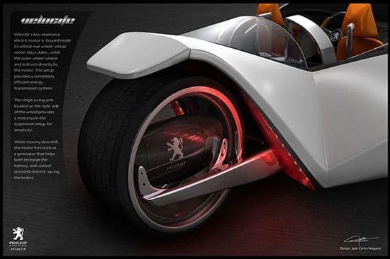 Hybrid Peugeot Concept Car