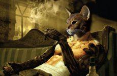 Adam Jensen From Deus Ex As A Cat