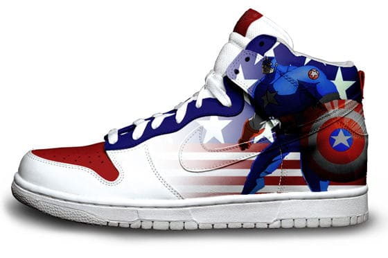 Captain America Nike Sneaker