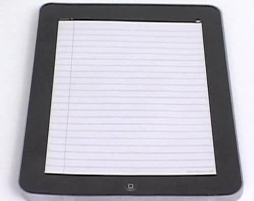 Cheap iPad iNotepad