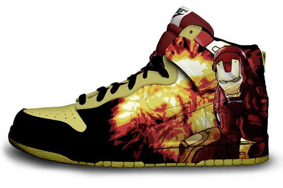 Iron Man Nike Sneaker