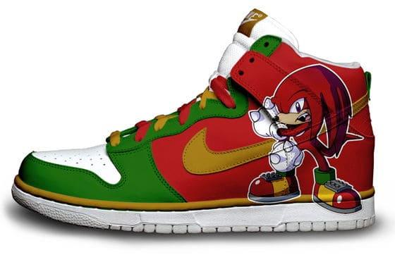 Knuckles Nike Sneaker