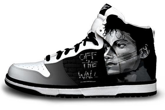 Michael Jackson Nike Sneaker