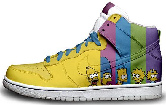 Simpsons Nike Sneaker