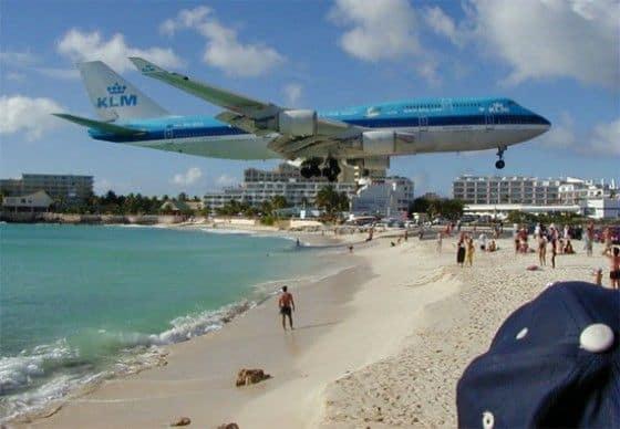 Caribbean landing strip