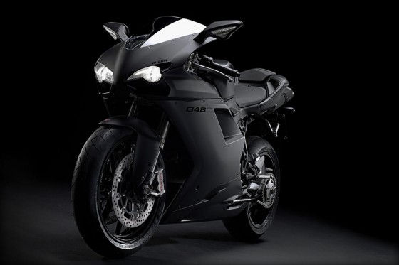 Ducati 848 Evo Flat Black Paint