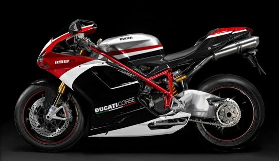 Ducati 1198 R Corse Side