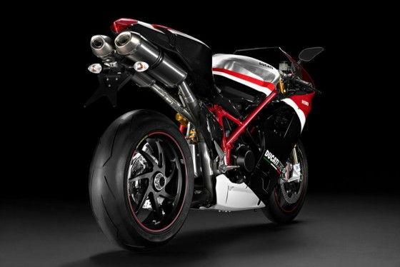 Ducati 1198 R Corse Exhausts