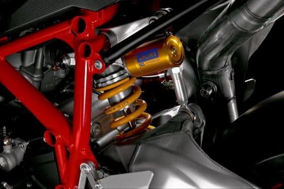 Ducati 1198 R Corse Suspension
