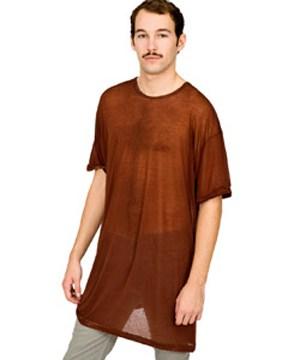 American Apperal See Through Shirt