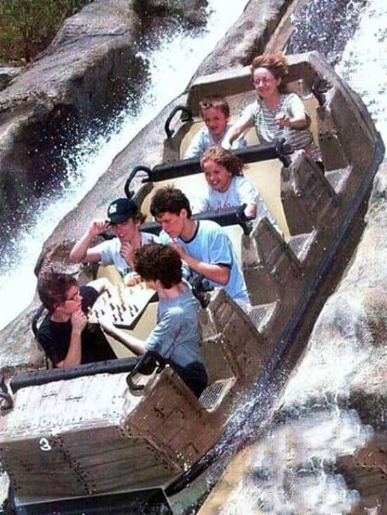 Chess On Roller Coaster