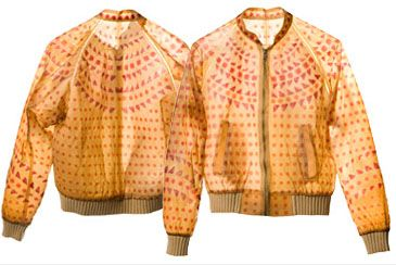 A Stylish Bomber Jacket Made From Human Skin Looking Stuff