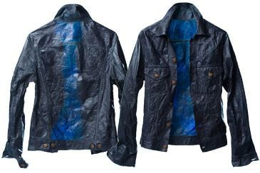Denim Style Jacket By Bio-Couture