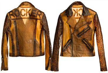 A Jacket That Looks Like A Shiny Tea Bag By Bio-Couture