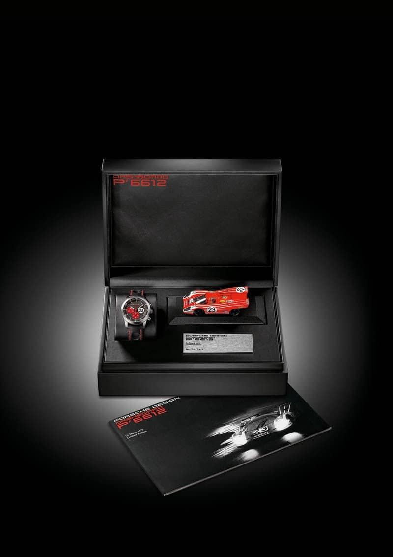 Porsche Desing P6612 Box With Car