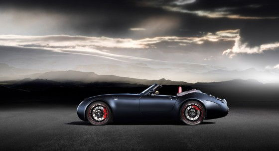 Wiesmann Roadster MF4 Top Down