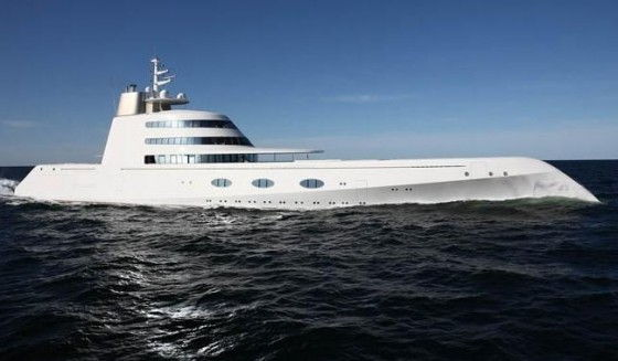 Russian Billionaire's $300 Million Yacht