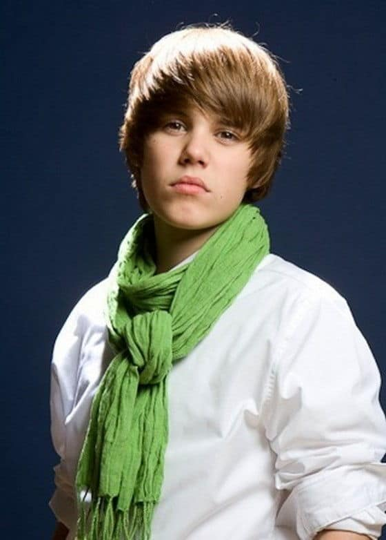 Justin Bieber Looking Serious