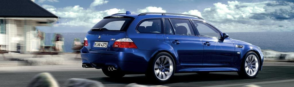 BMW M5 Touring with v10