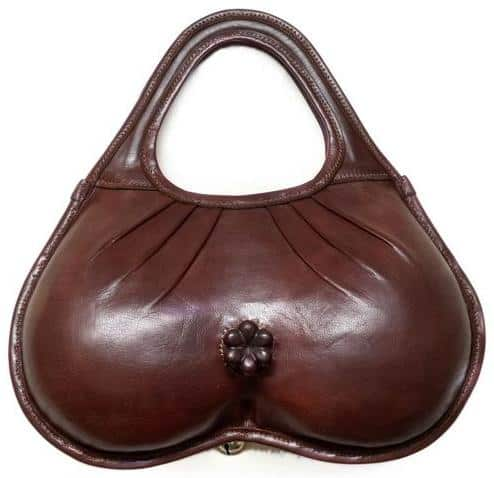 A Handbag That Looks Like A Penis With Anus