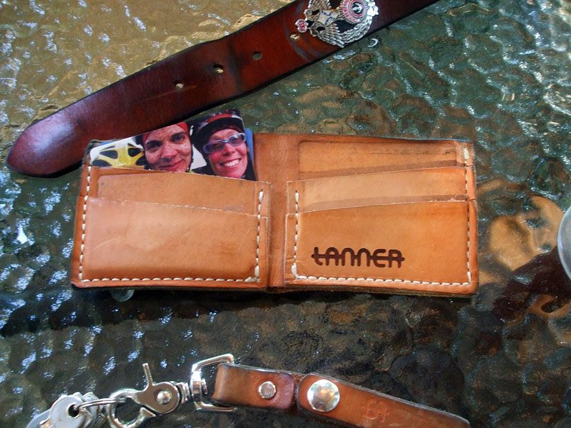 Tanner Goods Open Wallet With Lanyard
