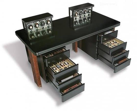 Erwin Sattler Thesaurus - Ultimate Watch Winding Desk
