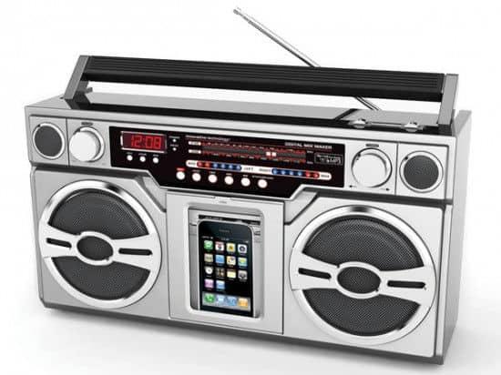 Boombox-MP3-Music-Player