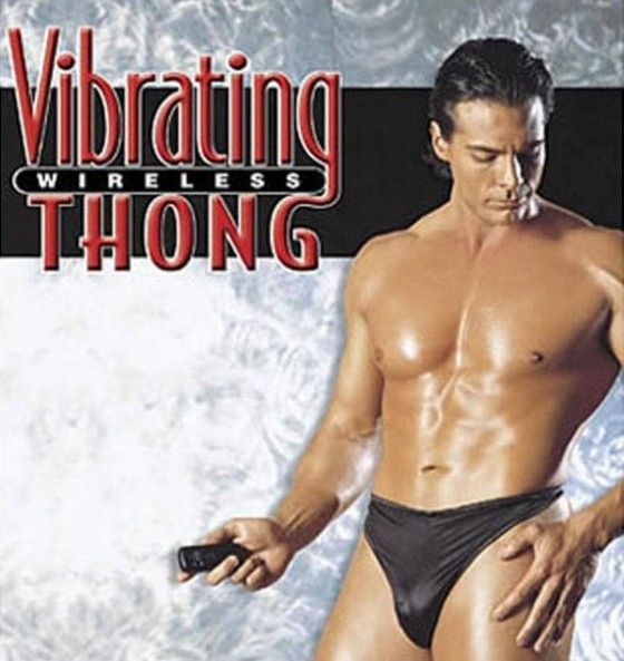 Vibrating Wireless Thong for men