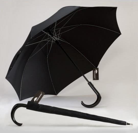 The Unbreakable Unbrella Being Displayed