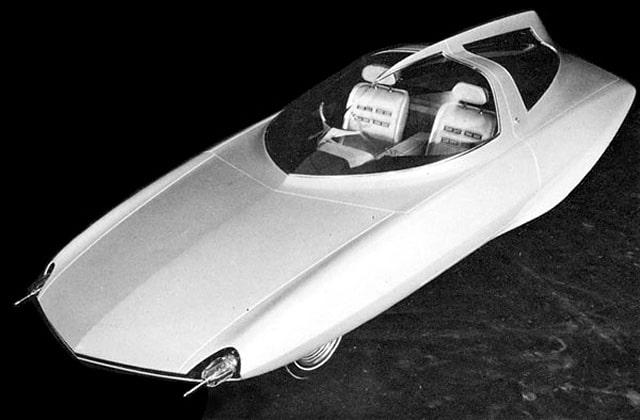 1966 Japanese Toyota concept car