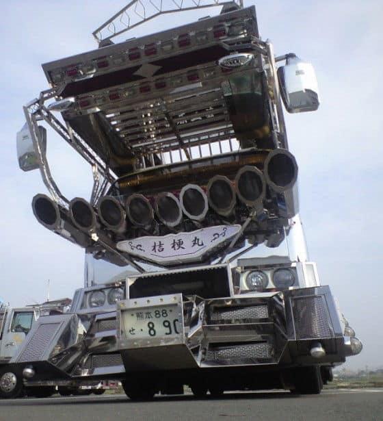 Chrome Gundam Truck Anime