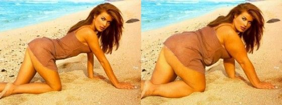 If Carmen Electra was fat, what would she look like?
