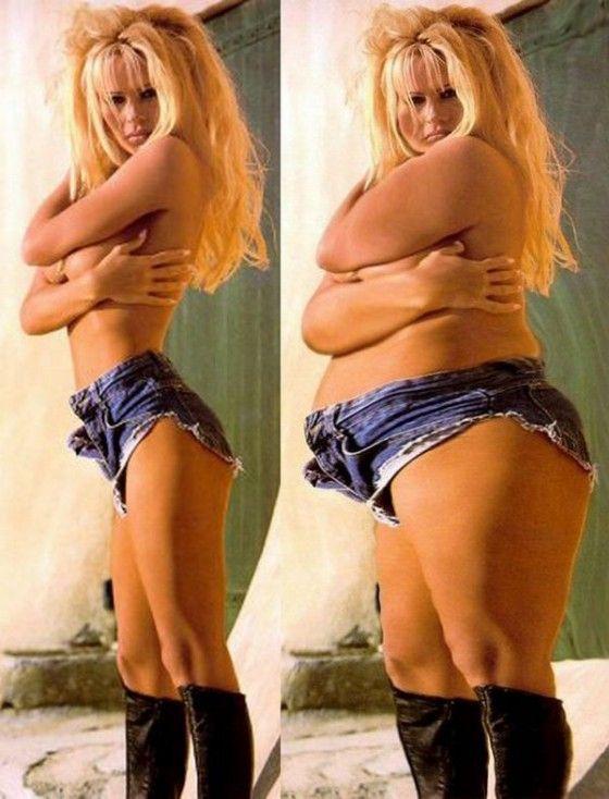 If Pamela Anderson was a BBW fatty