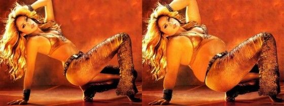 What would Shakira look like if she was fat