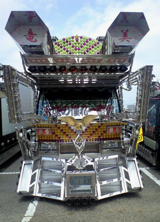 Dekotora Gundam Truck Japan